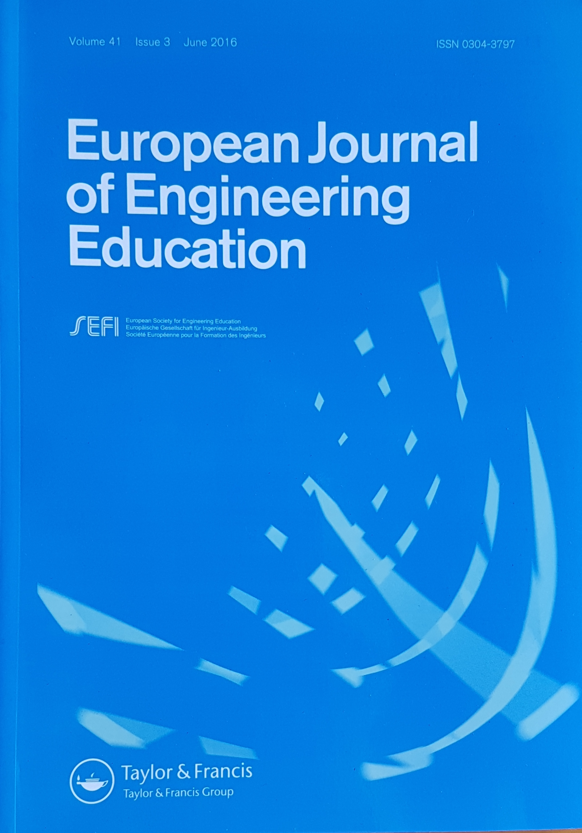 News About The European Journal Of Engineering Education
