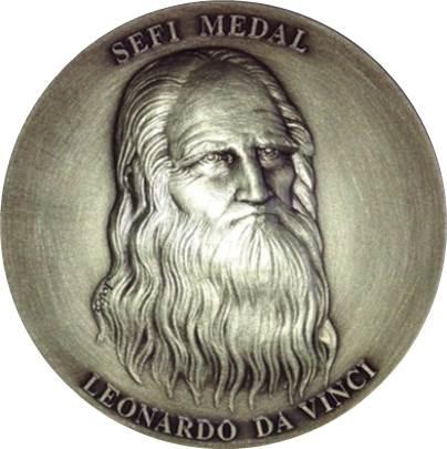 Prof Johan Malmqvist Receives The Leonardo Da Vinci Medal From SEFI