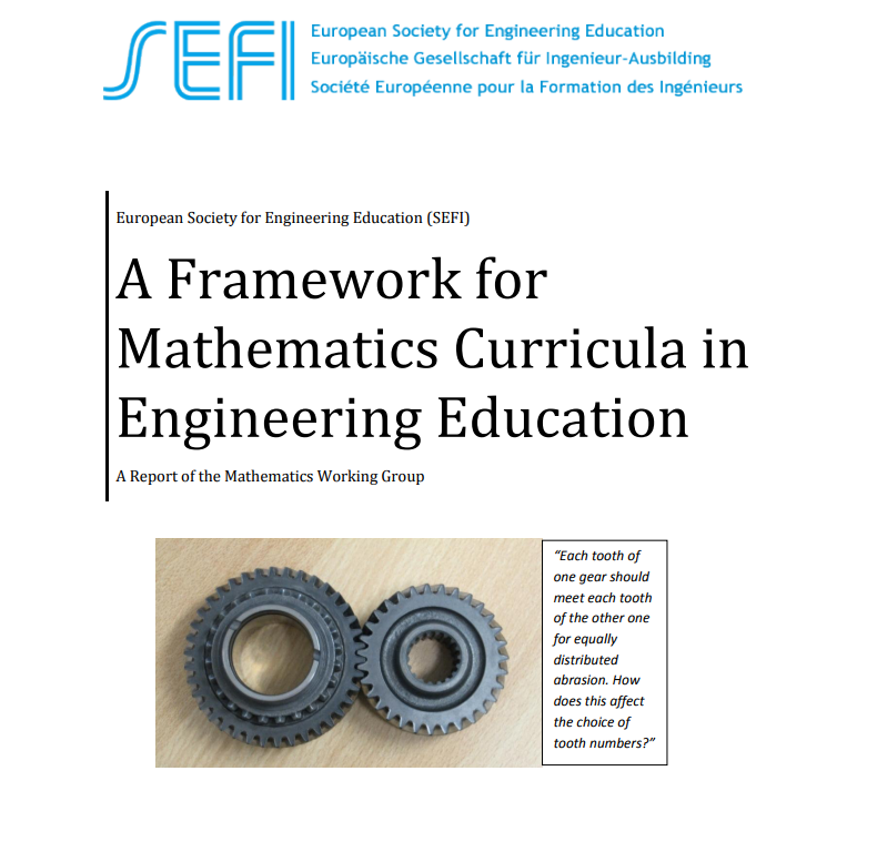 A Framework For Mathematics Curricula In Engineering Education