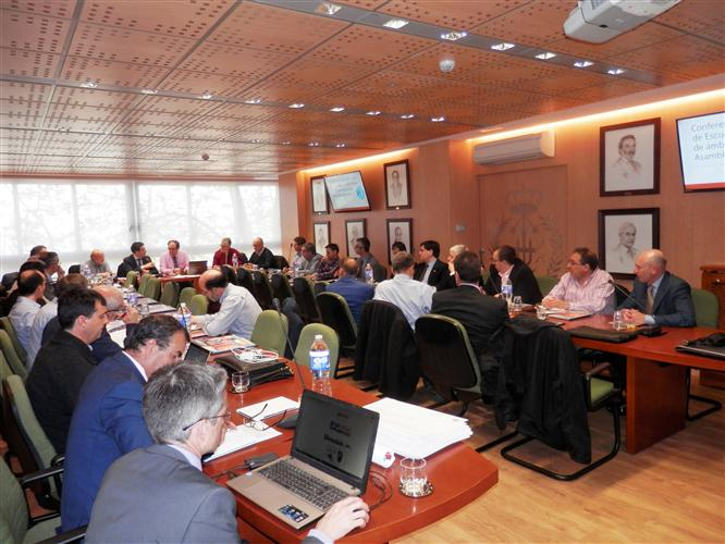 SEFI VP Attended The Spanish Industial Engineering Deans' Council