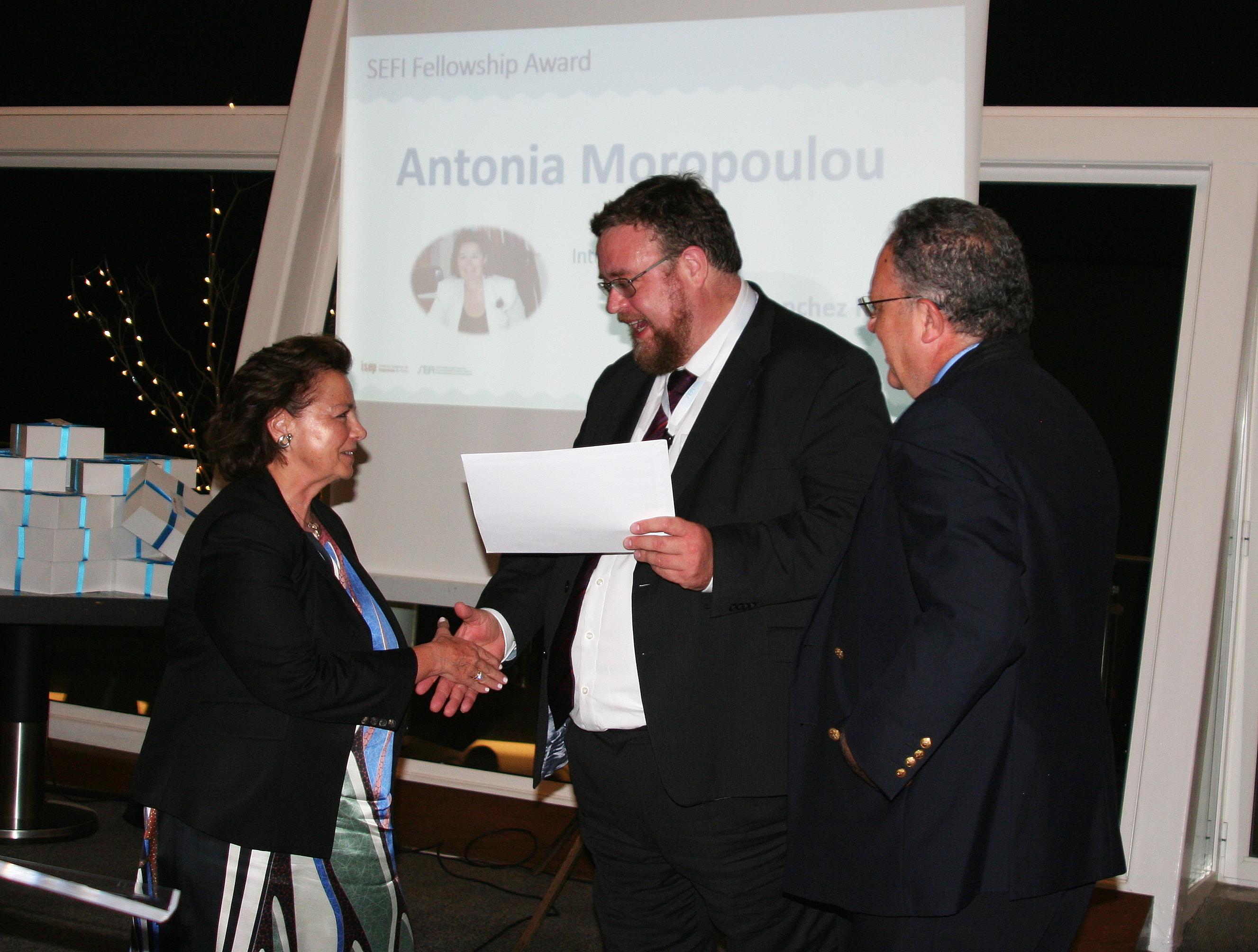 SEFI Fellowship Award: Antonia Moropoulou