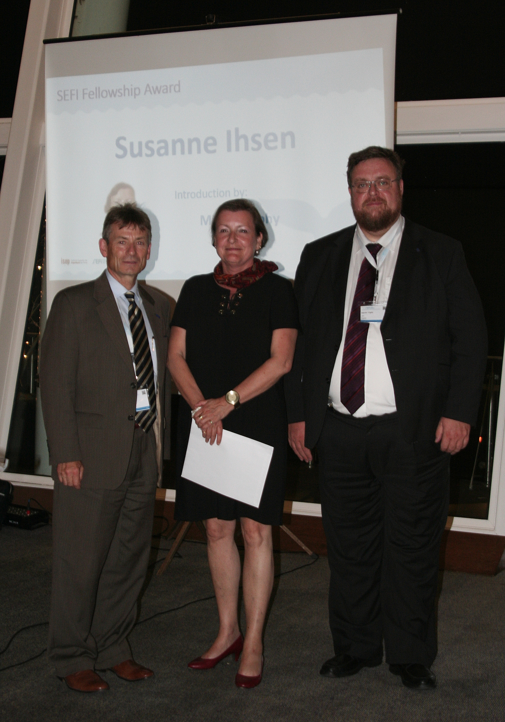 SEFI Fellowship Award: Susanne Ihsen