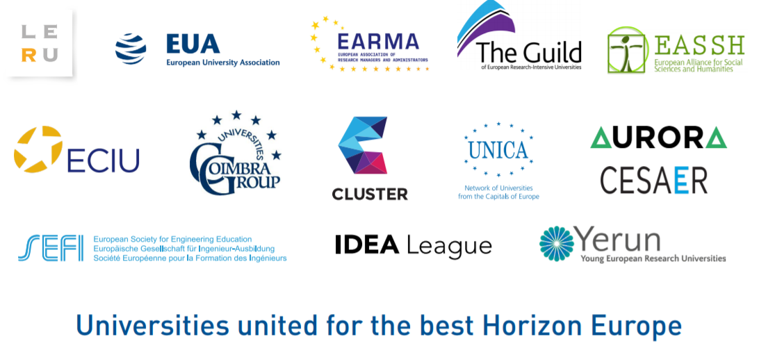 SEFI Joins Forces With 13 University Associations For The Best Horizon Europe Programme
