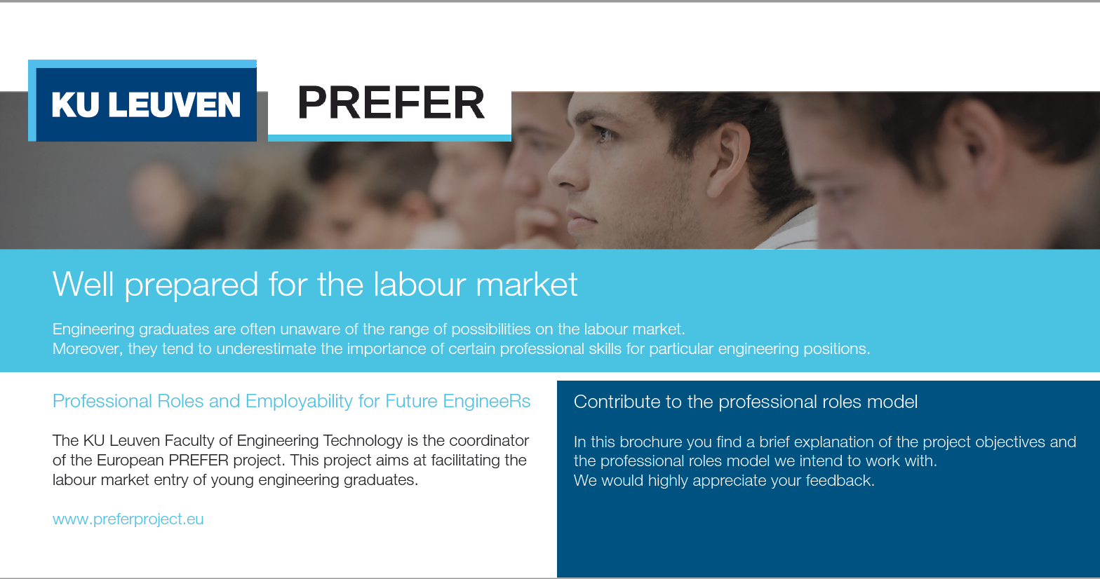 PREFER Project Tackles The Employability Of Engineering Graduates