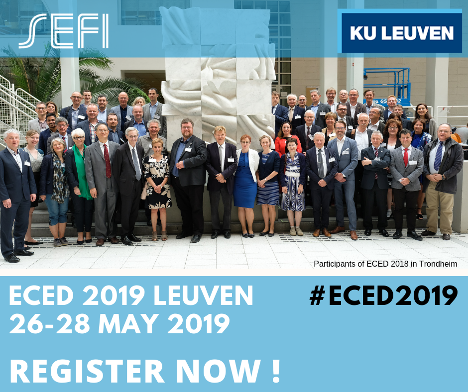 REGISTRATION OPEN: ECED 2019 In Leuven