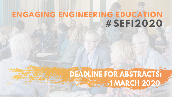 CALL FOR PAPERS: SEFI 2020 Annual Conference