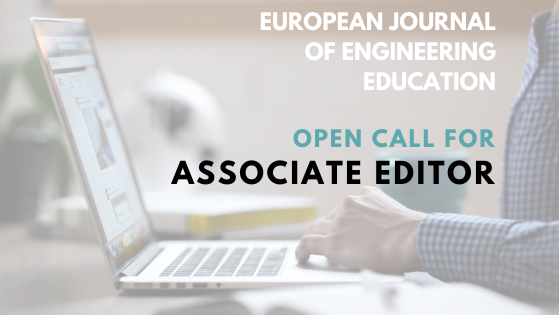 Open Call: Associate Editor Of The European Journal Of Engineering Education